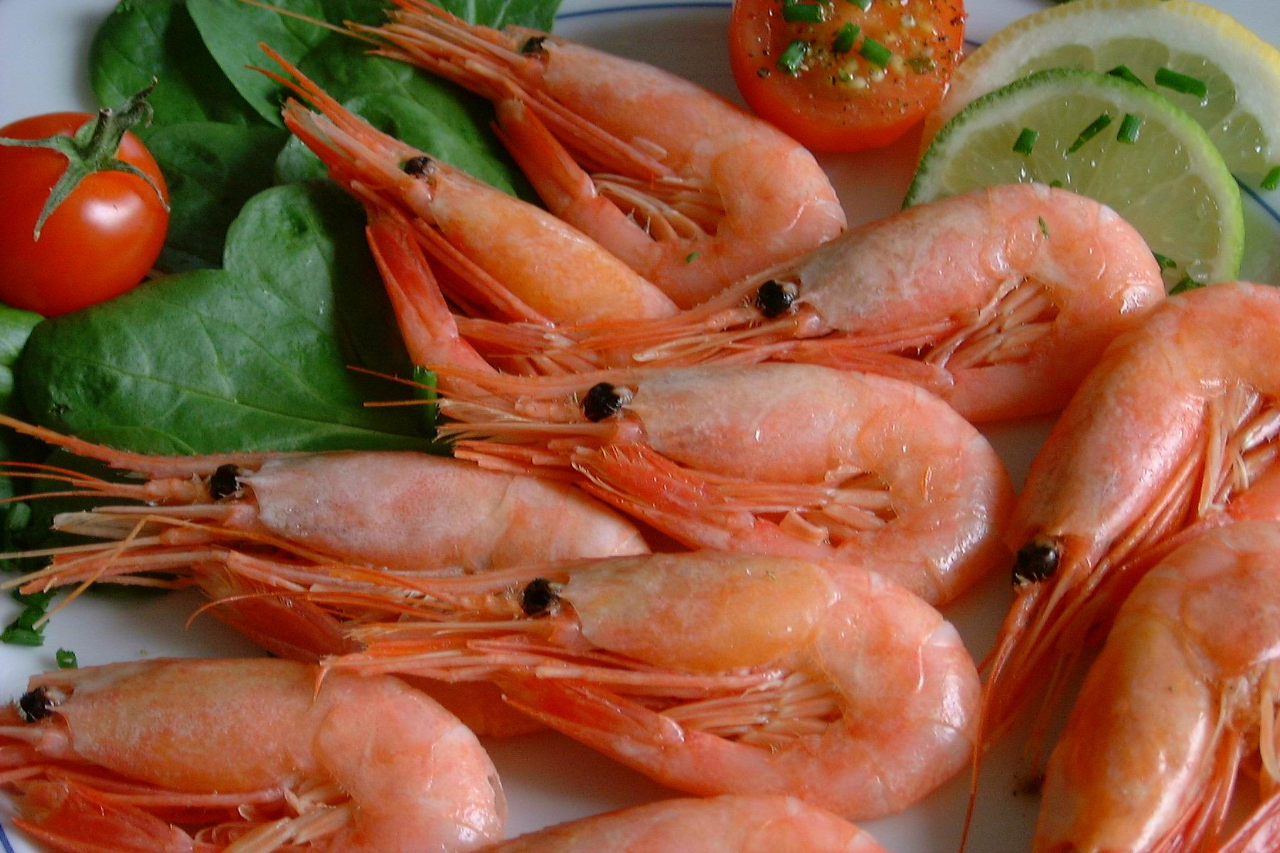 How to cook peeled shrimps frozen  Boiled-frozen in a shell
